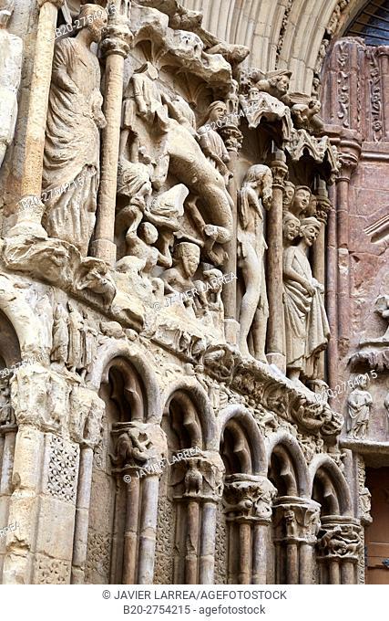 Church of San Bartolomé, Logroño, Way of Saint James, La Rioja, Spain, Europe