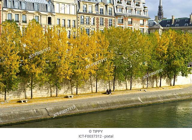 France, Paris, quai des orfevres