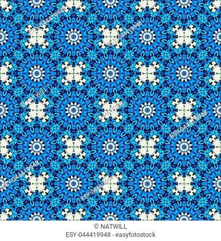 Seamless background pattern. Irregular decorative, art tile pattern from uneven broken pieces