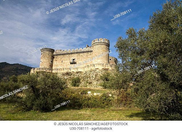 Duques de Alburquerque castle. Mombeltrán. Sierra de Gredos Regional Park , Ávila province, Castilla-León, Spain