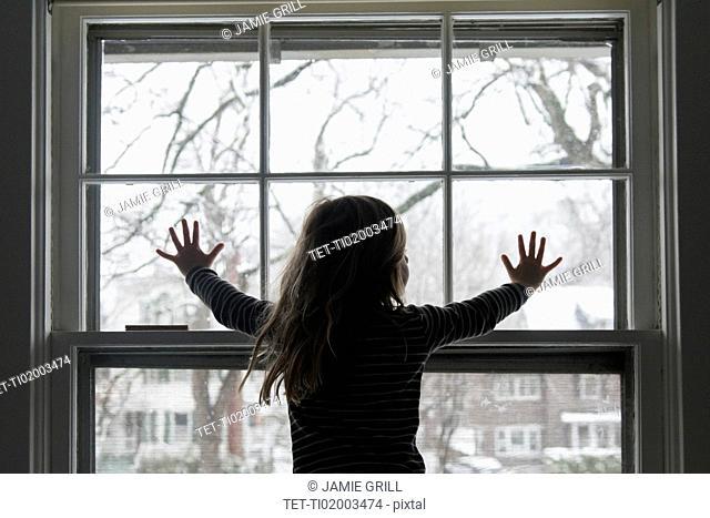 Girl by window
