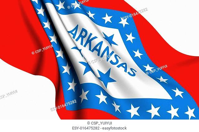 Flag of Arkansas, USA