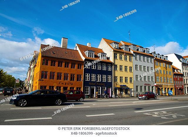 Torvegade street Christianshavn district Copenhagen Denmark Europe
