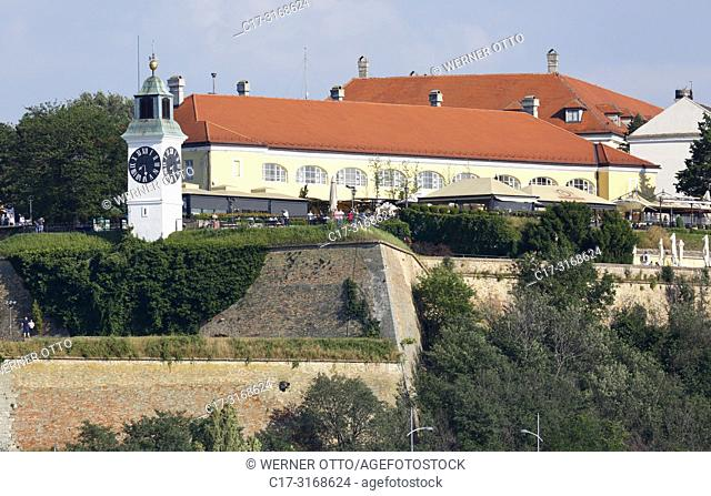 Novi Sad, Serbia, Novi Sad on the Danube, Province Vojvodina, District South Backa, Petrovaradin Fortress, European Capital of Culture 2021 *** Local Caption...