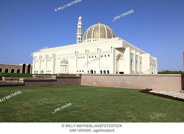 Grand Mosque Sultan Qaboos, Muscat, capital city area Al Khuwayr, Sultanate of Oman