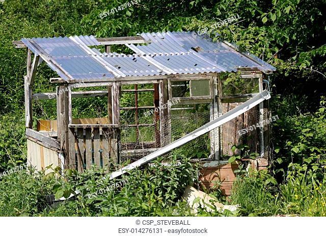 Old derelict shed