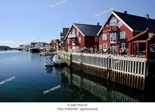 Vestfjord, Vestfjorden, Henningsvaer, Nordland, Norway, Scandinavia, Europe
