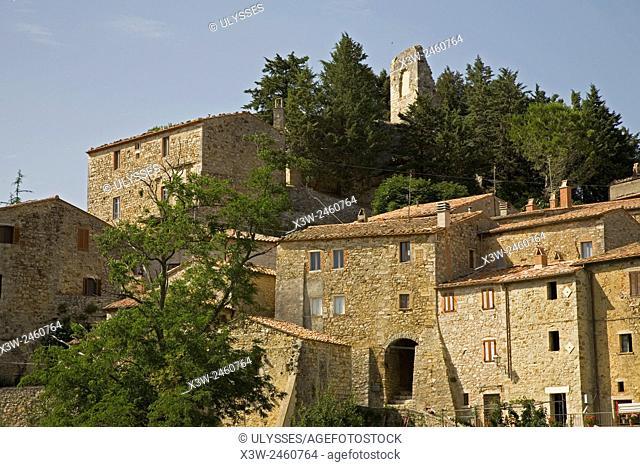 europe, italy, tuscany, rocchette di fazio, semproniano area