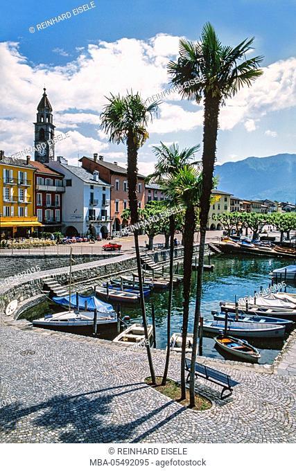Ascona, Lago Maggiore, Switzerland