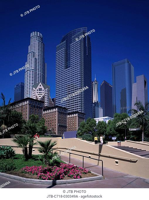 Pershing Square, Downtown, Los Angeles, California, United States of America