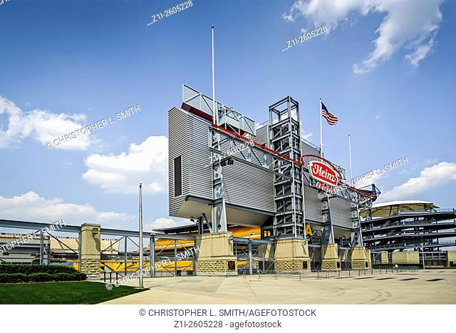 Heinz Field Sports Stadium home to the NFL Pittsburgh Steelers and the Panthers