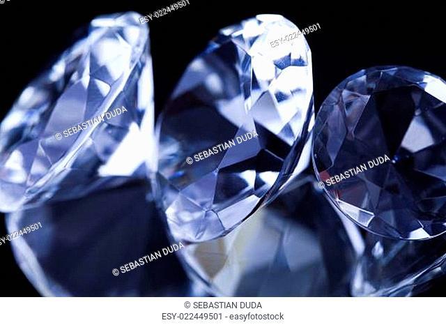 Diamonds background