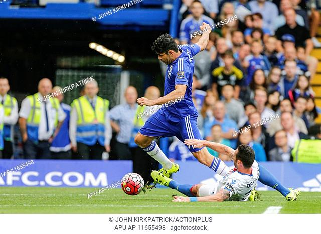 2015 Barclays Premier League Chelsea v Crystal Palace Aug 29th. 29.08.2015. Stamford Bridge, London, England. Barclays Premier League
