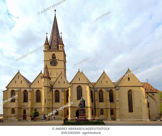 Lutheran Cathedral of Saint Mary, Sibiu, Transylvania, Romania, Europe