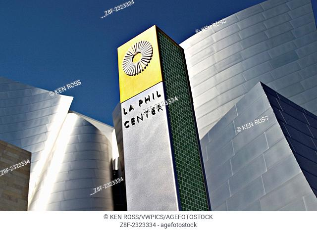 Walt Disney Concert Hall, Los Angeles, California, USA