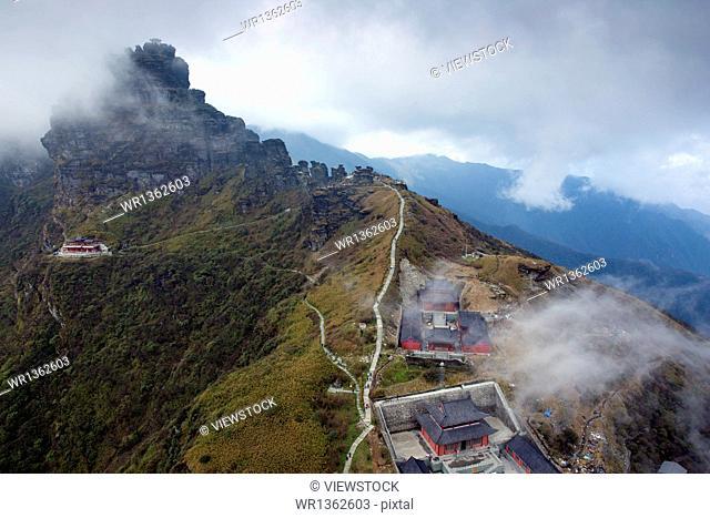 Guizhou Fanjingshan scenery