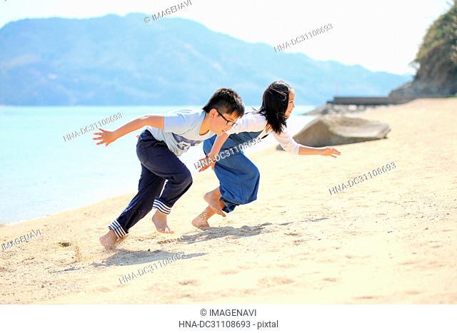 Child at Sand Beach