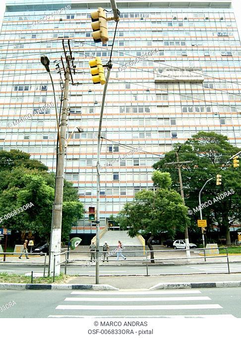 porto alegre rs high building architecture facade