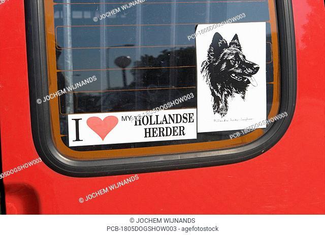 Holland, Arhnem, visitor of dogshow