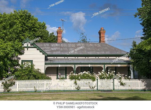 Victorian-era country home in Ballan, western Victoria, Australia