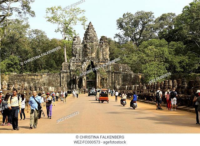 Cambodia, temple at Angkor Thom