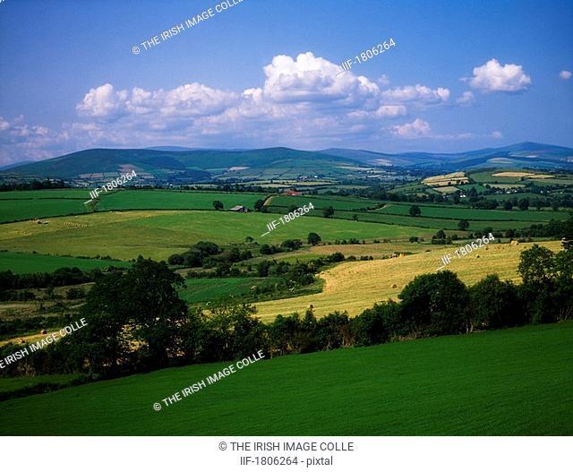 Pastoral region, near Augrhim, County Wicklow, Ireland