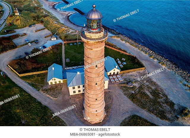 Lighthouse in Skagen, Nordjylland, Denmark