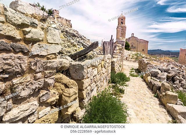 Poble Vell, Corbera, Tarragona province, Catalonia, Spain