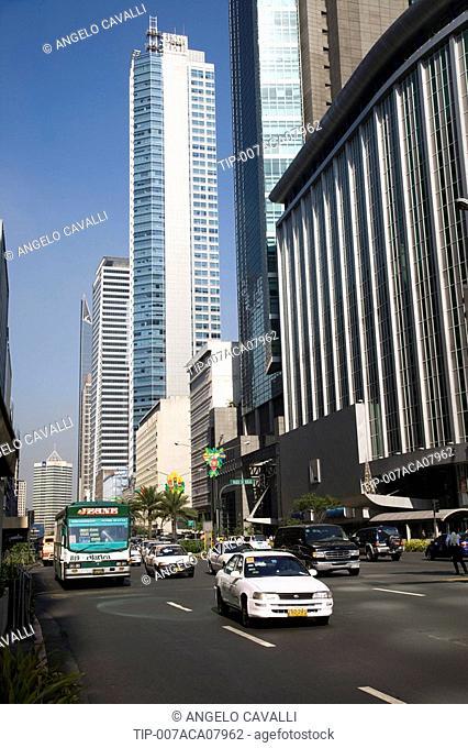 Asia, Philippines, Manila, Makati District
