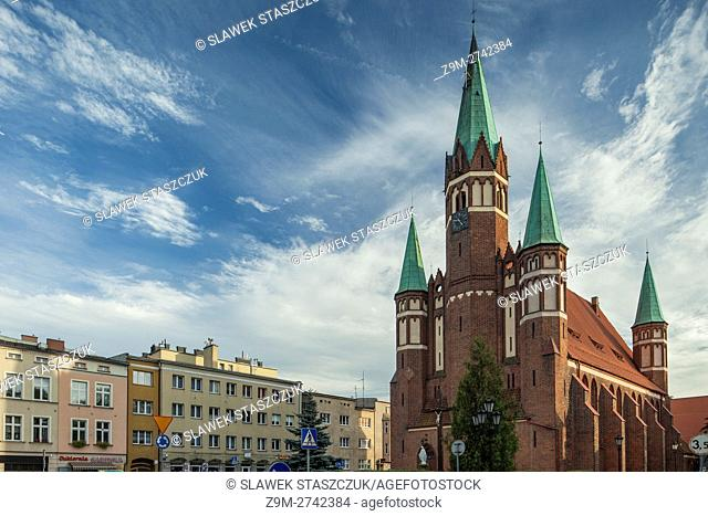 Church of Leon the Great and St Stanislaw in Wejherowo, Poland