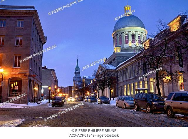 Vieux Montreal, Quebec, Canada