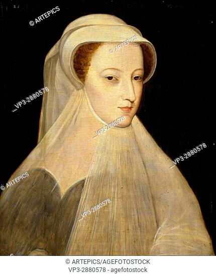 Unknown after Francois Clouet - Mary, Queen of Scots, 1542 - 1587. Reigned 1542 - 1567 - National Galleries of Scotland
