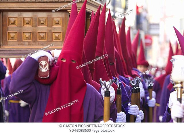 Holy week Processiopn, Semana Santa. Cuenca. La Mancha. Castilla, Spain