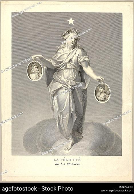 Felicity of France - 1810/14 - Unknown Artist French, early 19th century - Origin: France, Date: 1810–1814, Medium: Engraving with etching in black on ivory...