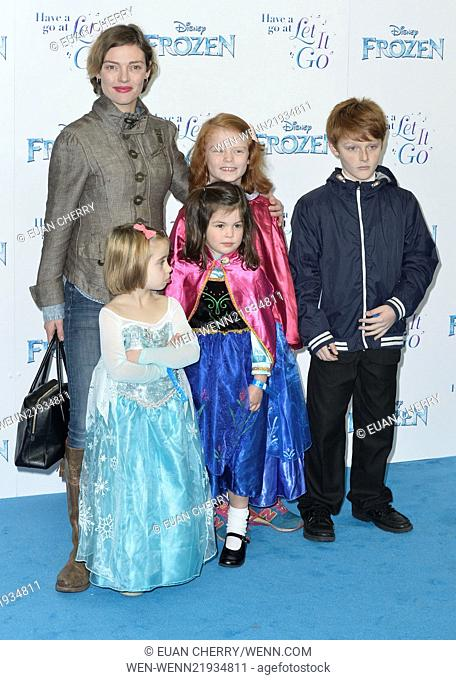 'Frozen' Sing-Along Gala Night held at the Royal Albert Hall - Arrivals Featuring: Camilla Rutherford Where: London, United Kingdom When: 17 Nov 2014 Credit:...