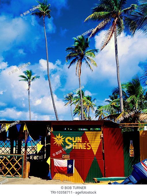 Nevis Pinney's Beach ÒSunshinesÓ Shack