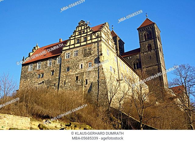 Quedlinburg, Schlossberg with collegiate church St. Servatius