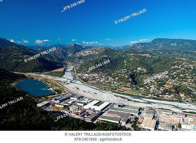 Var valley, Alpes-Maritimes, French Riviera, cote d'Azur, France