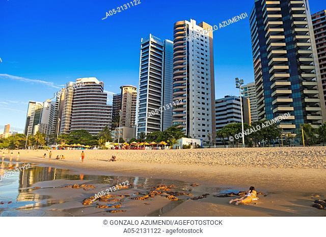 Praia de Meireles beach, Fortaleza, Ceará, Brazil