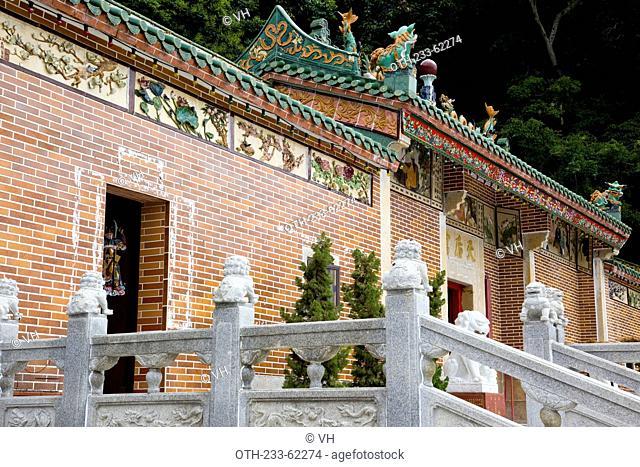 Tin Hau Temple on High Island, off Sai Kung, Hong Kong