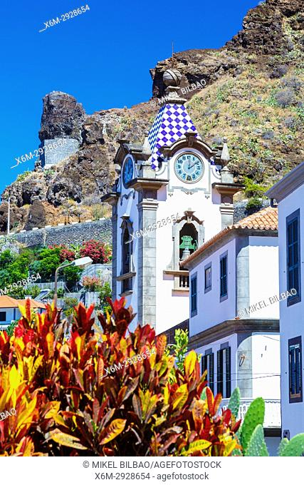 Sao Bento church. Ribeira Brava village. Madeira, Portugal, Europe