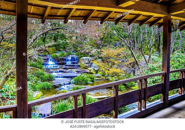 Japan, Himeji City,Kouko En Garden, Himeji Castle Garden