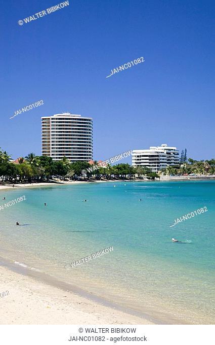 New Caledonia, Grande Terre Island, Noumea, Anse Vata resort area