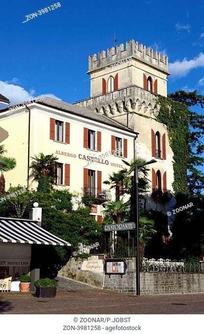 Ascona am Lago Maggiore ist mit seinem warmen Klima ein beliebter Urlaubsort / Ascona at the Lago Maggiore is a well-known touristic village because of its mild...