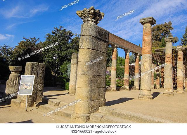 Roman theatre, Mérida, UNESCO World Heritage site, Badajoz province, Extremadura, Ruta de la Plata, Spain, Europe