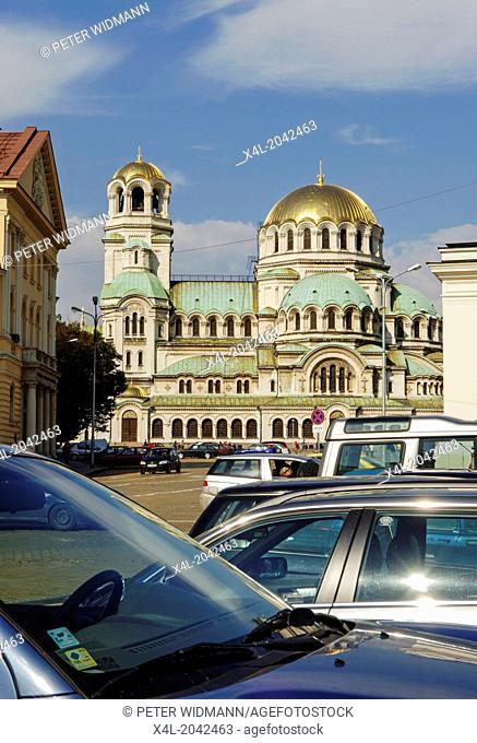 Sofia, Alexander Nevski cathedral, Bulgaria