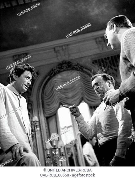 The Million Pound Note, Großbritannien 1954, aka: Sein größter Bluff, Regie: Ronald Neame, Darsteller: Gregory Peck, Reginald Beckwith