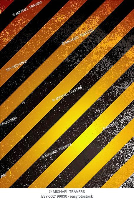 alert warning orange