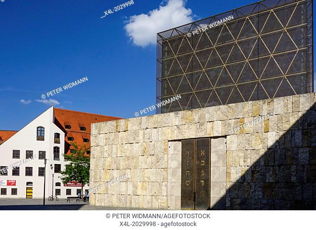 Synagogue and Jewish Museum in Munich, Upper Bavaria, Germany, Europe
