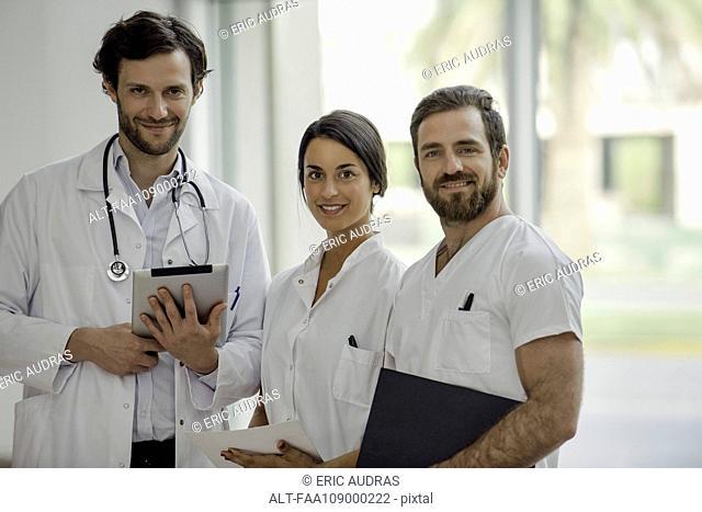 Healthcare professionals, portrait